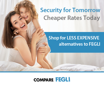 Compare FEGLI rates with private market options