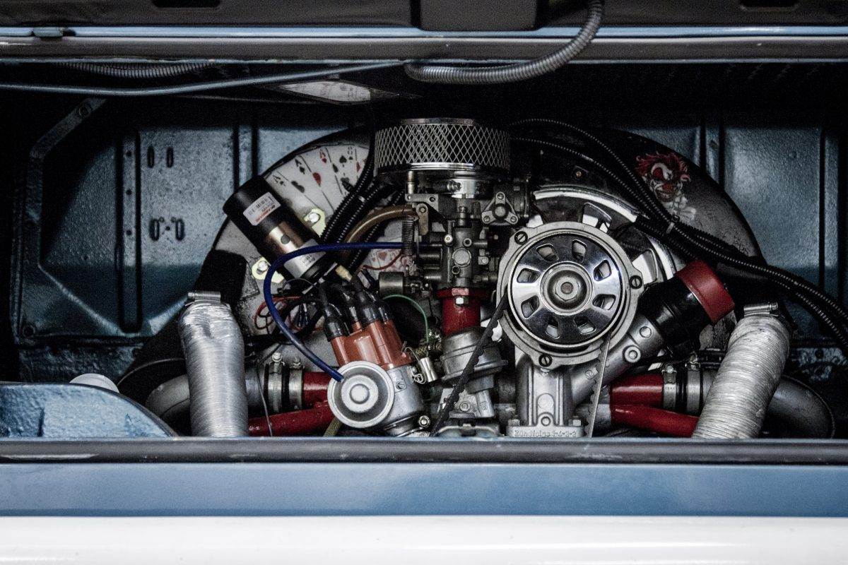 Image of a car's engine